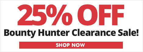 25% Off Bounty Hunter Sale