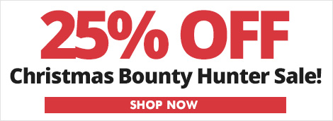 25% Off Bounty Hunter Christmas Sale