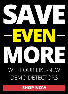 Save More On Demo Metal Detectors