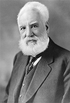 Alexander Graham Bell created the first metal detector in order to save President Garfield's life.