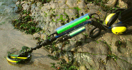 can underwater metal detectors be used on land
