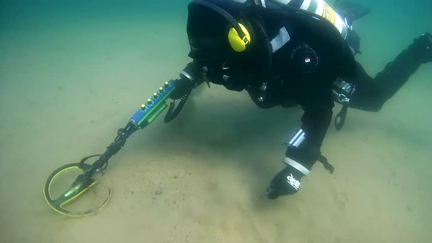 what are the different types of underwater metal detectors