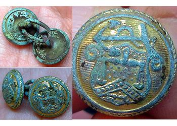 Found with Minelab E-Trac Metal Detector
