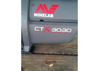 Found with Minelab CTX-3030 Standard-with Wireless Headphones Metal Detector
