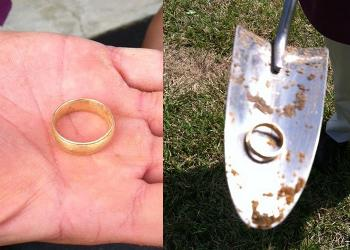 Found with White's MXT Metal Detector