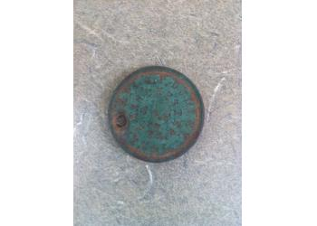 Found with White's MXT Pro Metal Detector